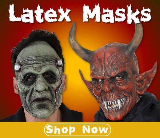 Shop Halloween Themed Latex Masks