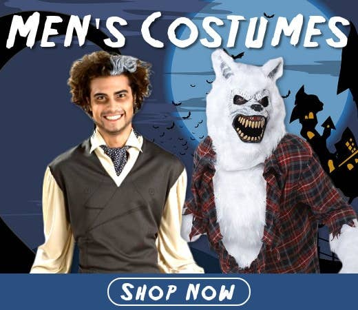 Shop Men's Halloween Costumes