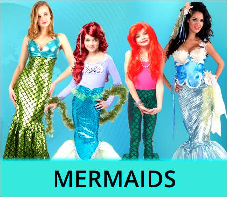 Shop All 2021 Other Worlds Mermaid Book Week Costume Ideas at Heaven Costumes Australia