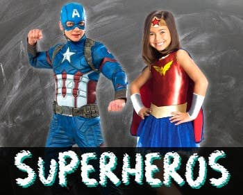 Shop Superhero Costumes at Heaven Costumes Australia