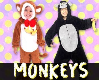 Shop All Monkey Costumes at Heaven Costumes Australia