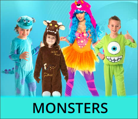 Shop All 2021 Other Worlds Monster Book Week Costume Ideas at Heaven Costumes Australia