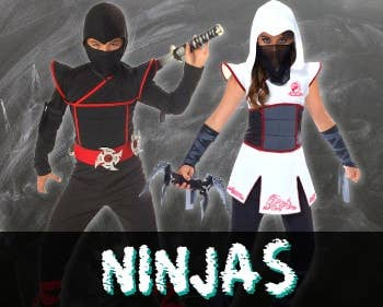 Shop Ninja Costumes at Heaven Costumes Australia
