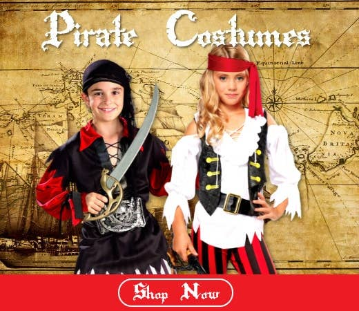 Shop Kids Pirate Book Week Costumes for 2018 Online