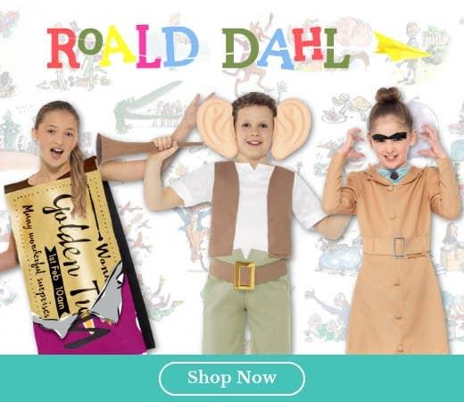 Shop Roald Dahl Book Week Costumes for Kids Online