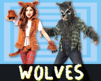Shop All Wolf Costumes at Heaven Costumes Australia