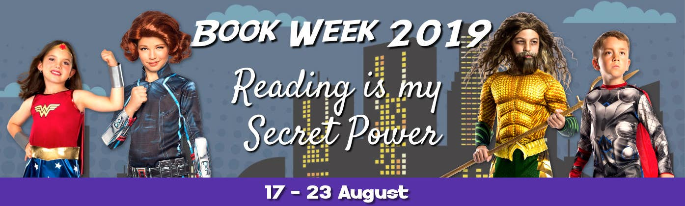 Reading is My Secret Power - Buy 2019 Book Week Costumes for Kids and Teachers Online in Australia