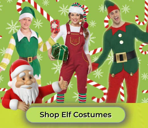 Shop Christmas Elf Costumes for Adults and Kids Online Now