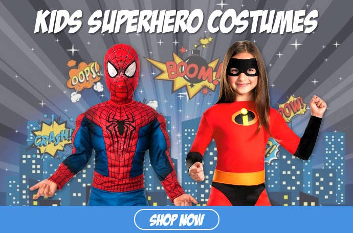 Buy Kids Superhero Costumes for Book Week 2019 Online in Australia