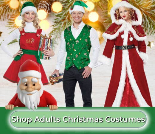 Shop 2019 Women's and Men's Christmas Costumes