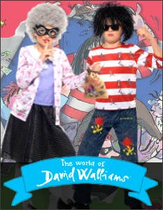Shop the Latest David Walliams Costumes for Book Week 2021 at Heaven Costumes Australia