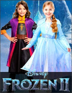 Shop the Latest Frozen Costumes for Book Week 2021 at Heaven Costumes Australia