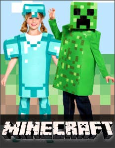 Shop the Latest Minecraft Costumes for Book Week 2021 at Heaven Costumes Australia