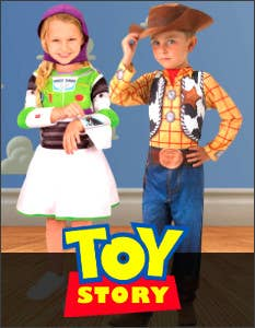 Shop the Latest Toy Story Costumes for Book Week 2021 at Heaven Costumes Australia