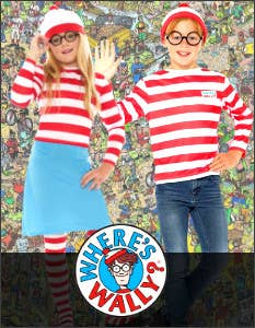 Shop the Latest Where's Wally Costumes for Book Week 2021 at Heaven Costumes Australia