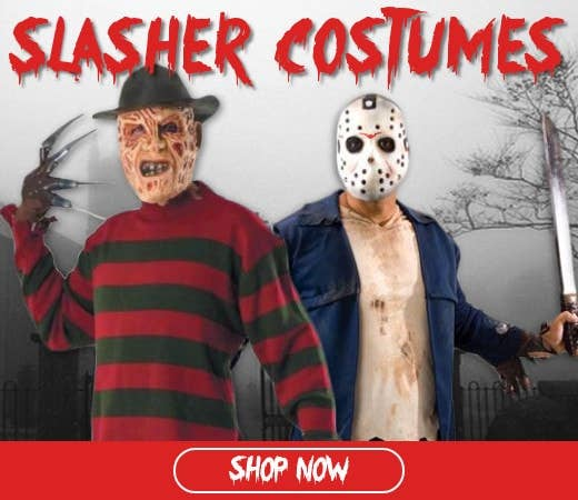Shop Slasher Themed Halloween Costumes