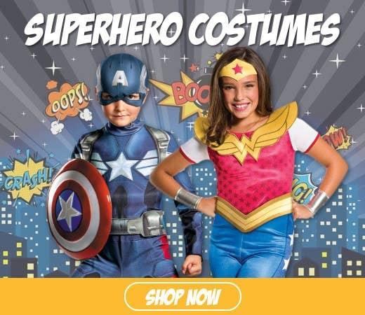 Shop Kids Superhero Book Week Costumes for 2018
