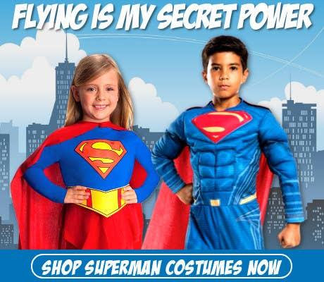 Book Week 2019 Secret Power - Flying!