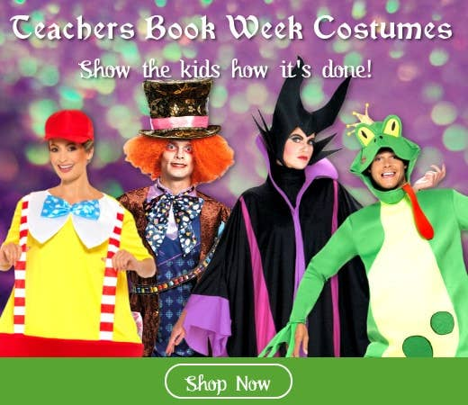 Shop Teachers Book Week Costumes Online