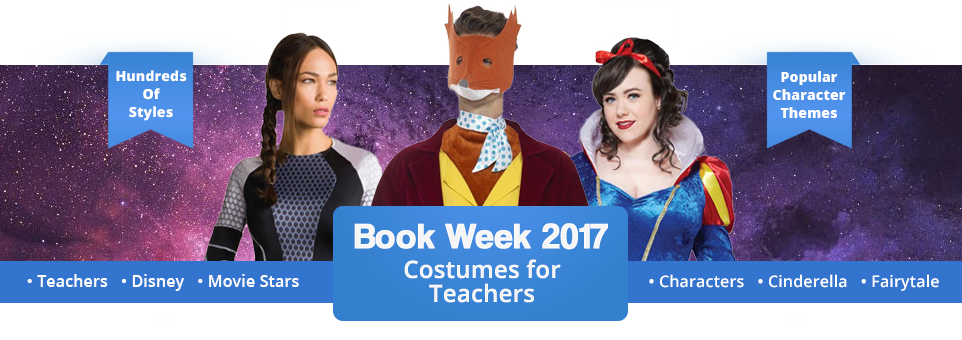 Teachers Book Week Costumes 2017