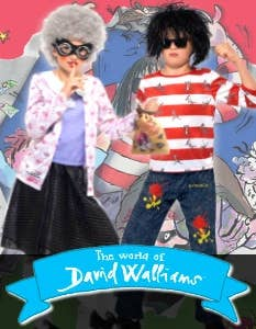 Shop The World of David Walliams Costumes at Heaven Costumes Australia