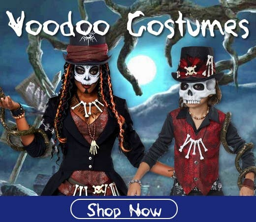 Shop Voodoo Themed Halloween Costumes