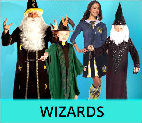 Shop All 2021 Other Worlds Wizard Book Week Costume Ideas at Heaven Costumes Australia