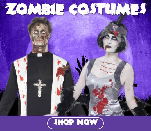 Shop Zombie Themed Halloween Costumes