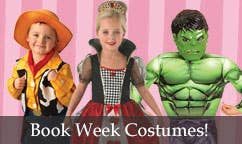 Kids Book Week Costumes