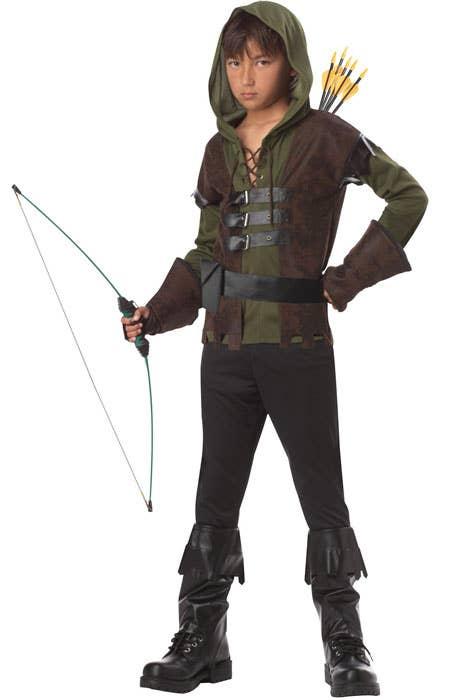 Boys Robin Hood Storybook Fancy Dress Costume