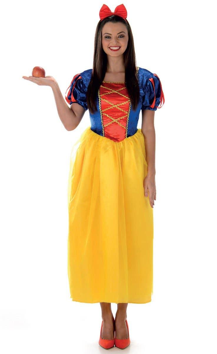 Women's Snow White Fairy Tale Fancy Dress Costume