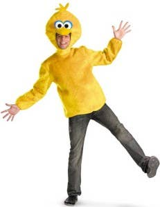 Yellow Sports Day Costumes Big Bird Sports Day Costumes