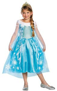 Elsa Kids Book Week Costumes
