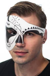 New Day of the Dead Men's Masquerade Masks