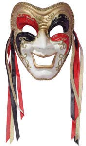Full Face Comedy Masquerade Masks