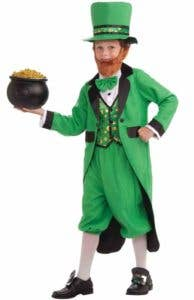 Boys Leprechaun St. Patrick's Day Costume