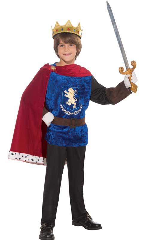 Boys Storybook Prince Charming Fancy Dress Costume