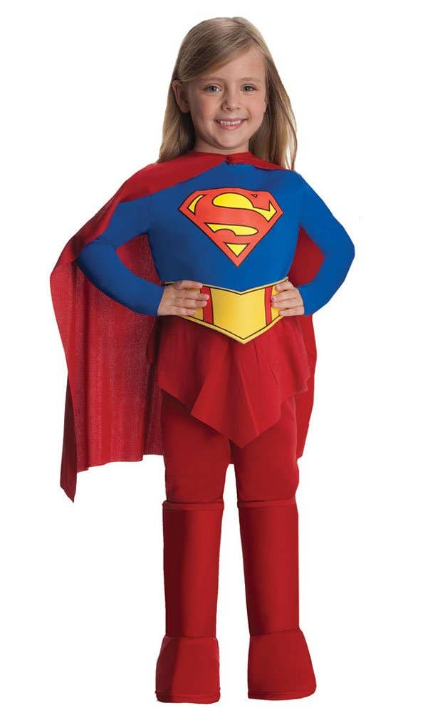 Shop Classic Supergirl Girls Book Week Costume Online