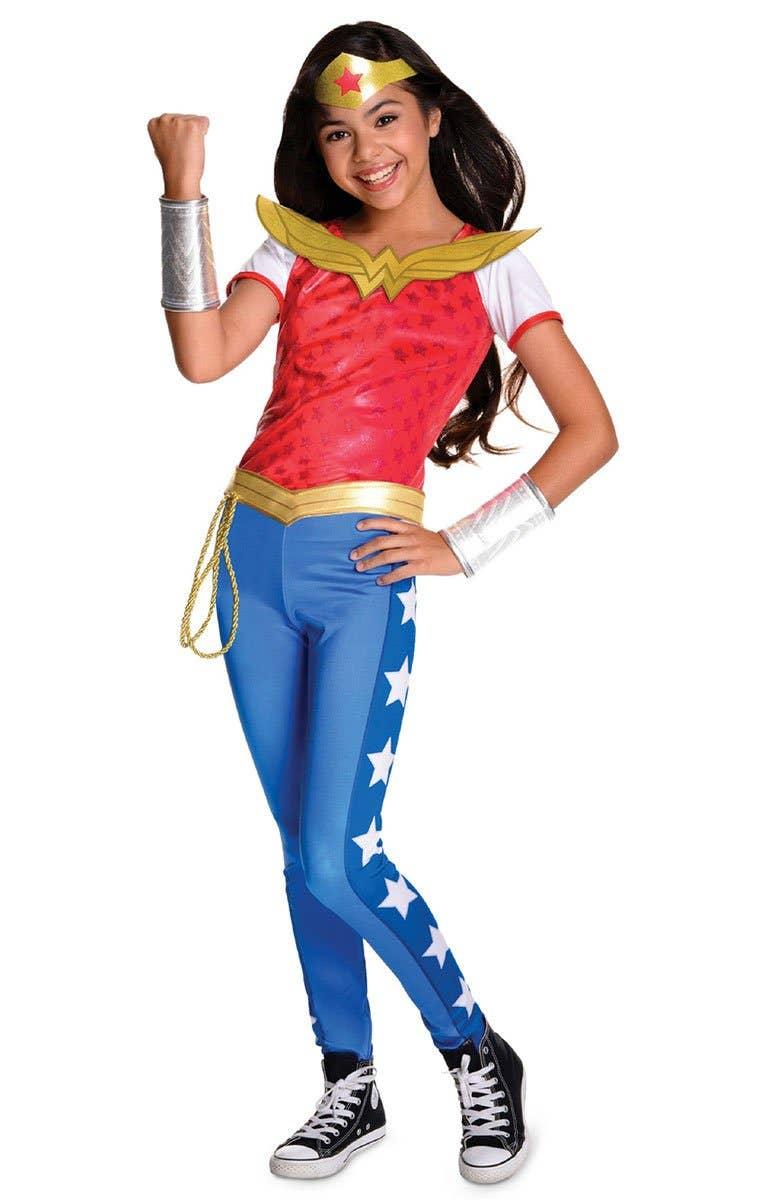 Shop DC Superhero Wonder Woman Girls Book Week Costume Online