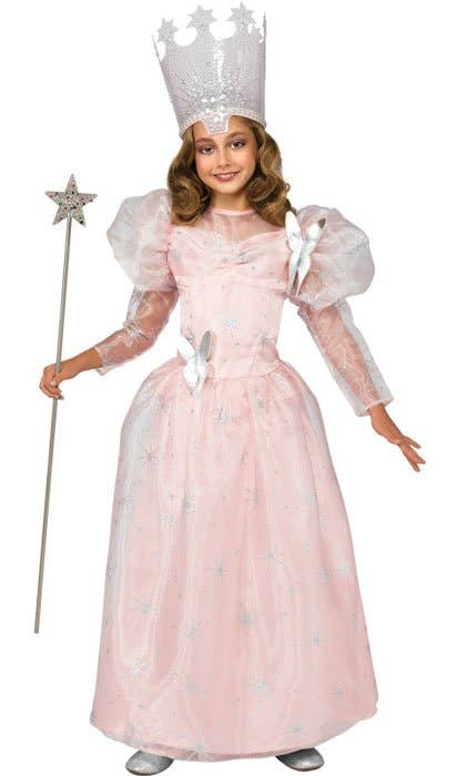 Shop Glinda the Good Witch Wizard of Oz Girls Book Week Costume Online