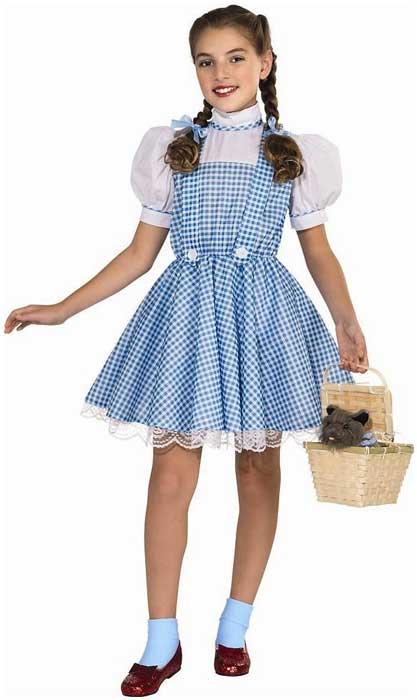 Shop Wizard of Oz Classic Dorothy Girls Book Week Costume Online