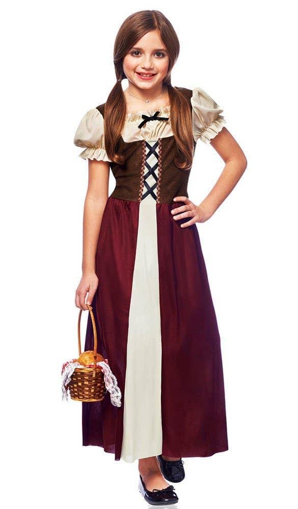 Shop Peasant Girl Kids Book Week Costume Online