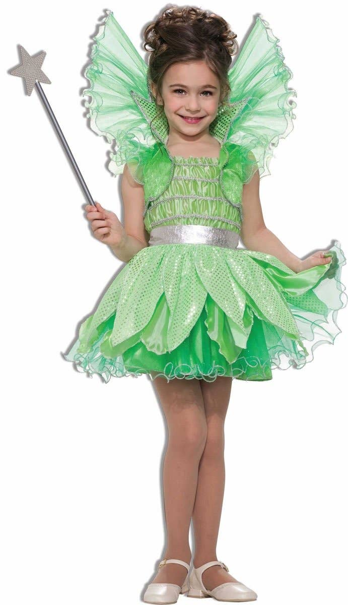 Shop Tinkerbell Green  Sprite Fairy Girls Book Week Costume Online
