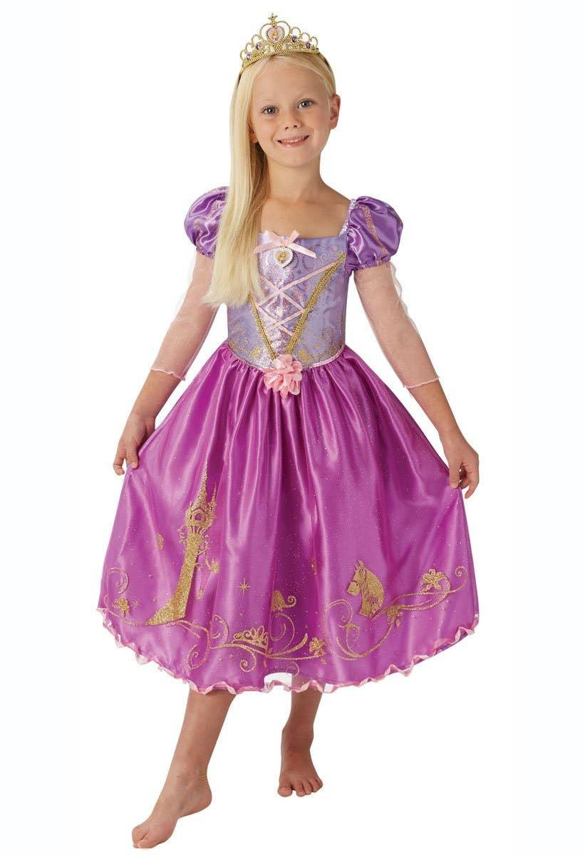Shop Rapunzel Shimmer Princess Girls Book Week Costume Online