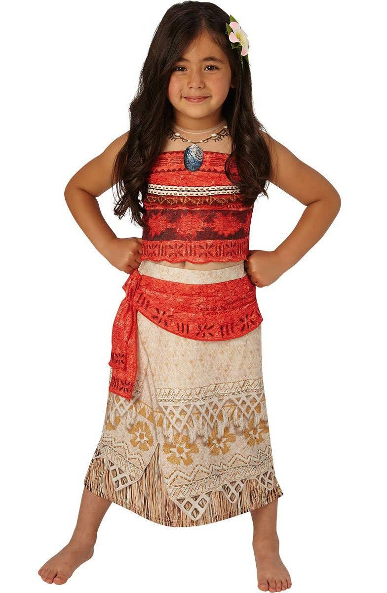 Shop Disney's Moana Girls Book Week Costume Online