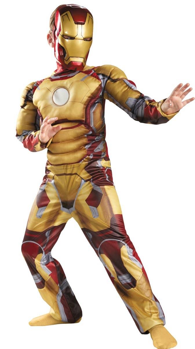 Boys Iron Man 3 Fancy Dress Superhero Costume