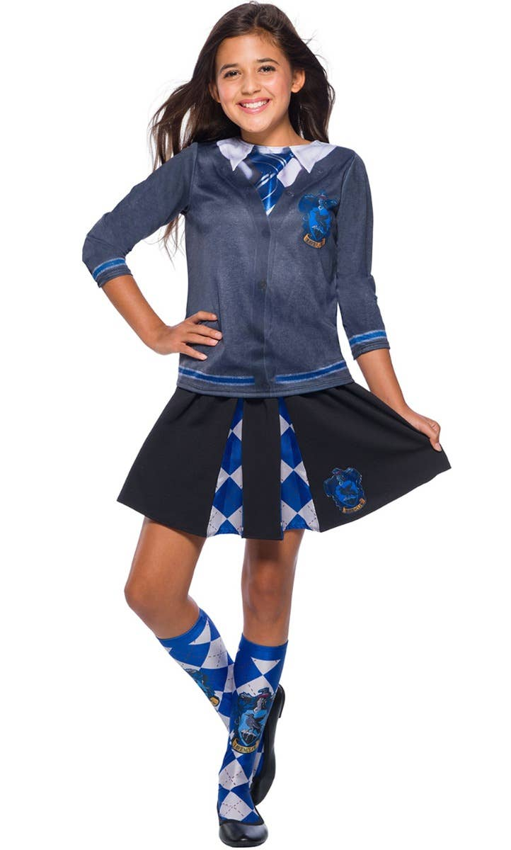 Girls Ravenclaw Costume from Harry Potter