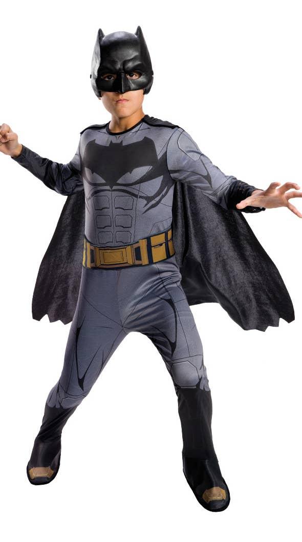 Boys Batman Justice League Superhero Fancy Dress Costume