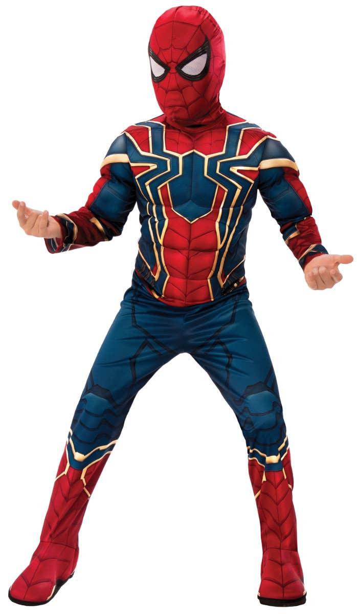 Boys Iron Spider Avengers Infinity War Superhero Costume