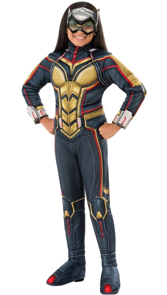 Girls The Wasp Ant-Man Movie Fancy Dress Costume